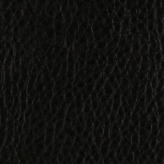 54u0027u0027 Wide Faux Leather Fabric Calf Black Fabric By The Yard   1 Yard