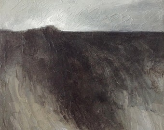 """Original Painting, Oil On Canvas """"Chalk Hill"""" by Michael Broad"""
