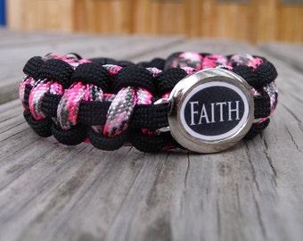 Faith Paracord Survival Bracelet