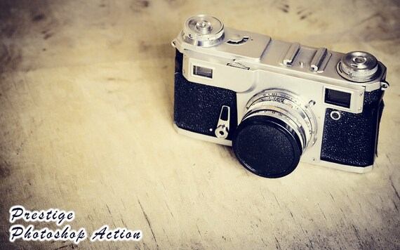 Photoshop Actions Vintage Art Photography Photo Editing Effects (Prestige)