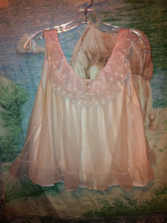 VAL Mode Vintage cupcake babydoll night top