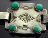 Silver and Turquoise Belt