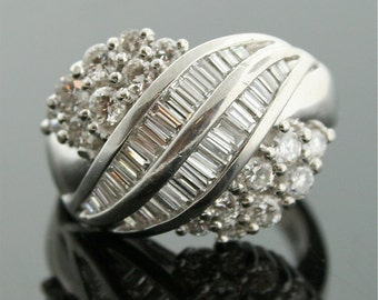 Vintage Ring - Platinum Diamond Ring