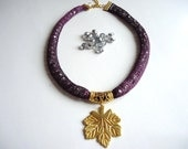 Purple new design  handmade  women jewelry, Best of Etsy for mothers