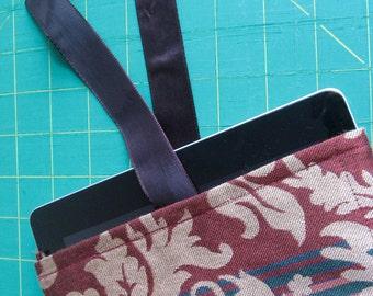 Repurposed Upholstery iPad Sleeve
