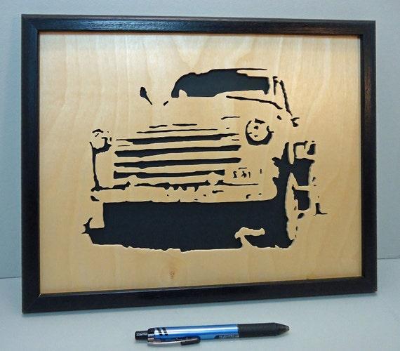 Old Truck - Framed