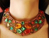 Rare Vintage M&J Hansen Collar Necklace