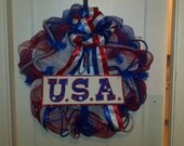 Memorial Day, 4th of July Support to our troops Decorative wreath