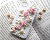Flower Decoden Kit Set DIY Phone Case Deco Rhinestone Bling