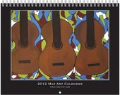 2012  Maz Art Wall Calendar