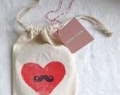 Mustache Cookie Valentine