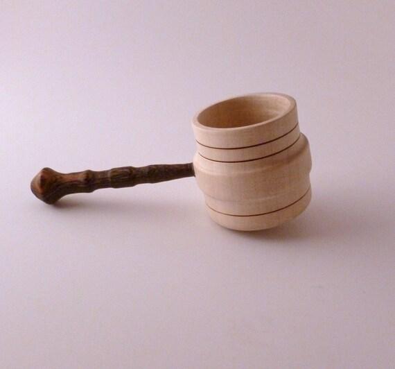 Handturned Wooden Coffee Scoop 7 Handcrafted