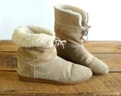 Brown Boots 7 / Shoes 7 / Ankle Boots / Boots 7 / Tan Suede Boots / Winter Boots