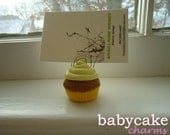 CUPCAKE Business Card / Photo / Place Setting HOLDER In Variety Of COLORS