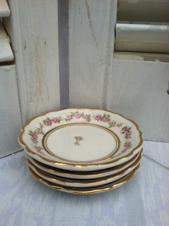 Johnson Bros. England Butter Pat Dishes (4)