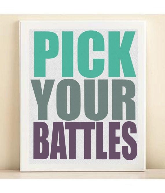 How Do You Pick Your Battles?   Lifehacker Australia   Chart Pick Your Battles