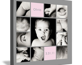"10""x10"" Photo Collage Design (print-ready flattened JPEG)"