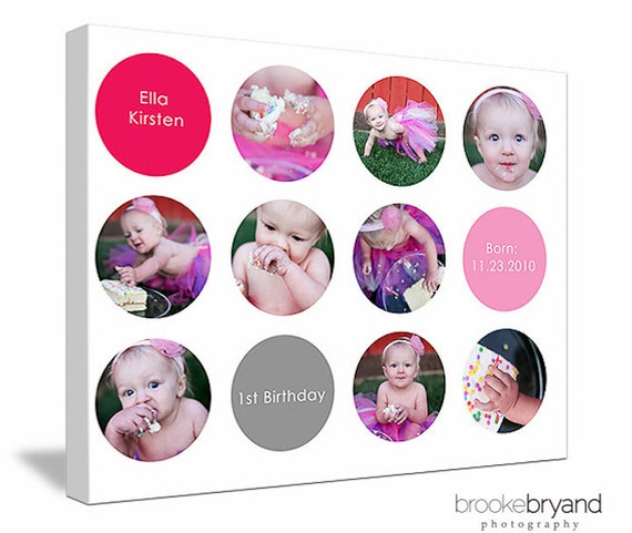 "8""x10"" or 16""x20"" Photo Collage Design (print-ready flattened JPEG)"