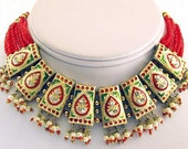Christmas Jewelry. Lakh, Necklace. Global Style