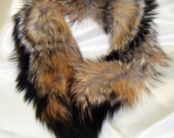 Red Fox, Grey Fox Fur Collars.