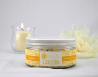 GIFT: Botanical Dead Sea Bath Salt in Jasmine 4 oz wrapped in gift box