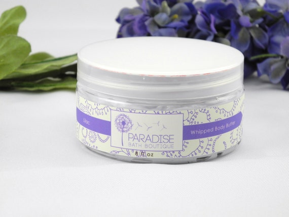 Whipped Body Butter 8 oz in Lilac
