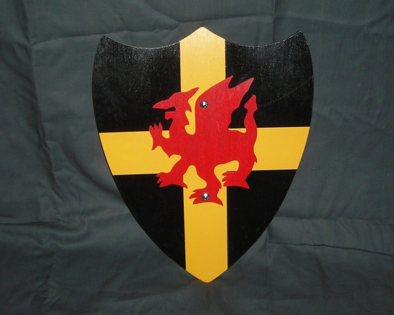 St. Davids Cross Shield