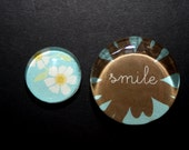 Set of Daisy / Smile Magnets