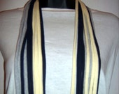 Upcycled NECK-LOOPZ Infinity T Shirt Circle Scarf