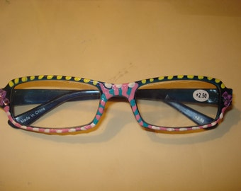 Handpainted Reading Glasses