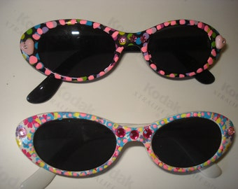 Childrens handpainted sunglasses