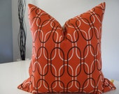 Decorative Pillow Cover Shiba Collection Custom Size Premier Prints Modern Retro Geometric Orange Sweet Potato Cotton Handmade