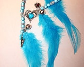 Rhythm Bead Mane Clip for Horses Glowing heart
