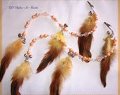Sold but i am taking orders. Rhythm Bead Mane Clip for Horses Golden Pearls 2 mane clips