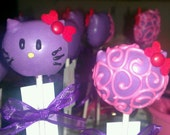 Cake Pops: Delicious fun size cake bites, regular cake pops, or character cake pops made to order.