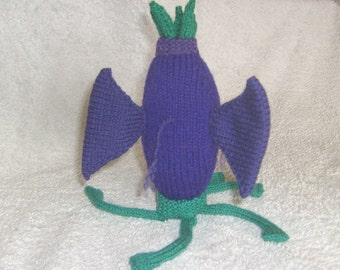 Elder Thing Toy / Cthulhu Mythos / Monster / Lovecraft / Plush / Knitted Toy