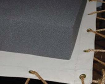 "Custom Cut Foam Mattress for Antique Rope (Peg) or Slate Bed (50"" x 70"" x 5"")"