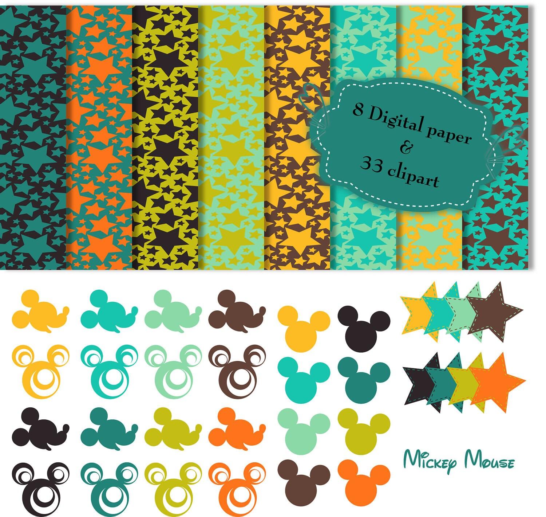mickey mouse border clip art - photo #35