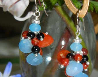 Chalcedony and Carnelian,  New Color Combination