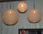 Eco-Friendly Hemp Light Shade (Various Sizes)