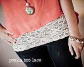Peekaboo Lace Bandeau & For The Hips, Hipster