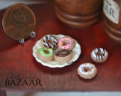 Assorted Donuts 1:12 Scale (Half Dozen) LAST SET