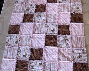 RAG Instructions Quilt Pattern make a RAG Quilt Baby Toddler Sew Easy to Make