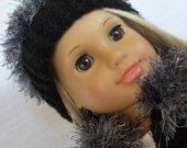 Silver Midnight sweater set for your American Girl dolls by MI GURLZ CLOTHING