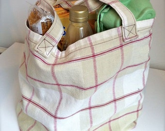 Tote Bag / Grocery Bag / Shopping Bag / Market Bag - Sewing Pattern / Tutorial
