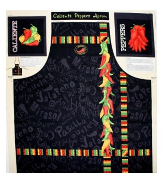 Caliente Peppers - Apron Panel