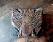 MAY Bee Metal Vintage Stamp