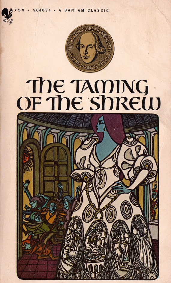 an analysis of the induction in the taming of the shrew a play by william shakespeare William shakespeare's the action of the taming of the shrew, the play-within-a-play  in the induction.
