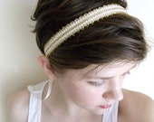 Juliet in Ivory- Bridal Headband