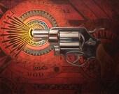 Gunshot archival print by Beau Stanton